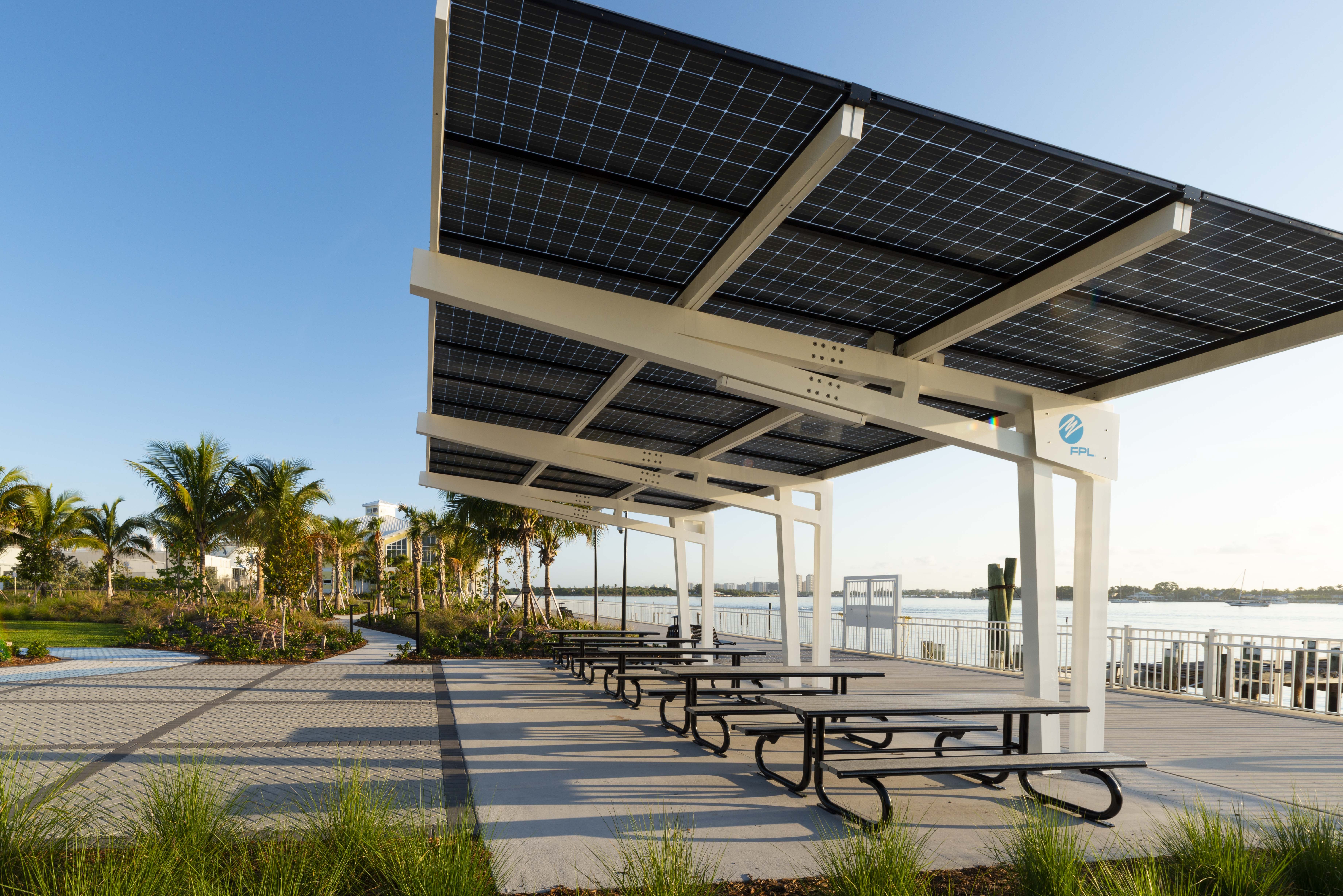 Solar Pavilions