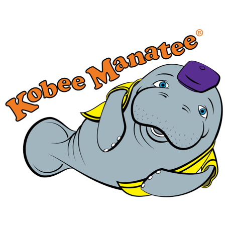 Kobee Manatee children's educational picture book series Logo