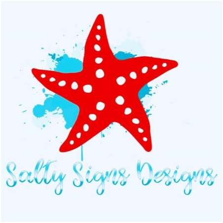 Salty Signs Designs Logo